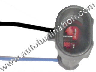 HID Headlight Bulb Dual System Toggle Connector Type 2 Male H4, 9004, 9007 H13