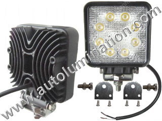 24 Watt Led Off Road Work Light