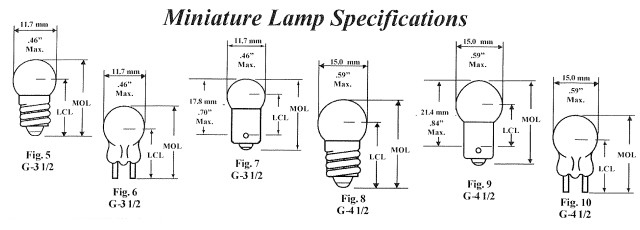 Automotive Ba15s 1156 Bayonet Oem Visual Bulb