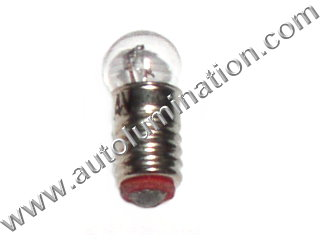 "#1402 MINIATURE BULB Pear BASE - 14.0 Volt .2 Amp C-6 Filament Design. .5"" Maximum Overall Length, 500 Average Rated Hours.1402-300 Lionel"