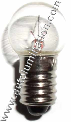461 Lionel Beacon Tower Dimple Light Bulb E10 14 Volt Ba9s g4.5 461-300