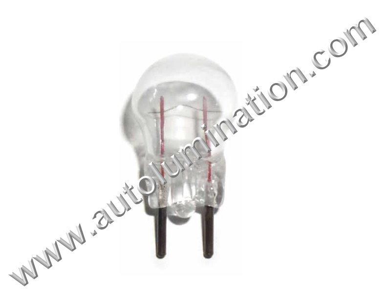 12 G3-1/2 Bi-Pin 6.3V Clear Glass Bi Pin Base Light Incandescent Bulb