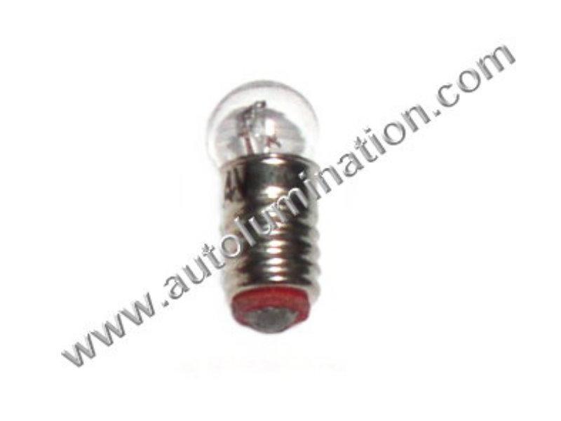 1402  G2 14V Clear Glass E10 Base Light Incandescent Bulb