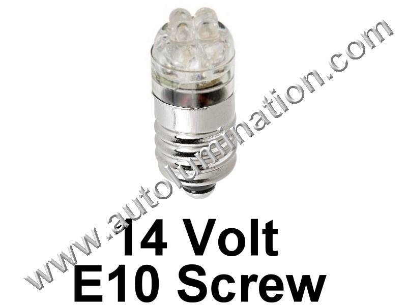 1449 G3-1/2 E10 14V 4Led Led Bulb