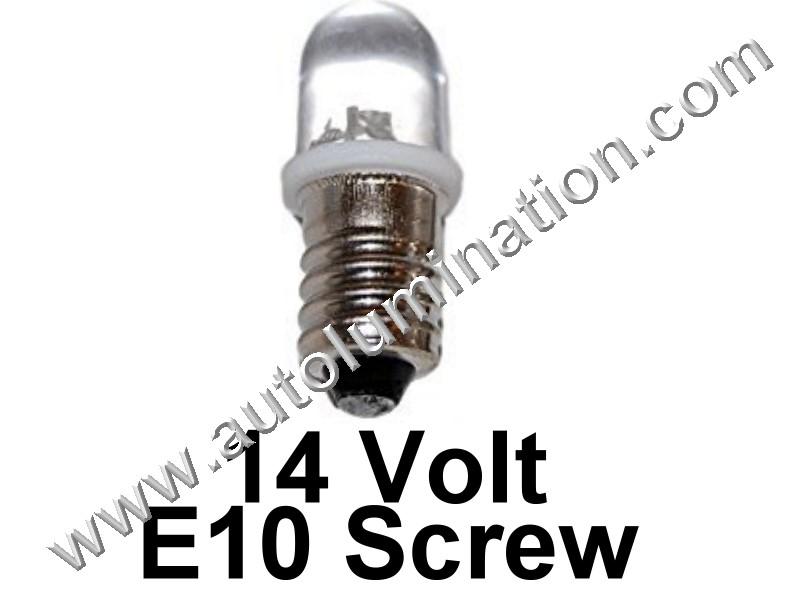 1449 G3-1/2 E10 14V Focused Led Bulb