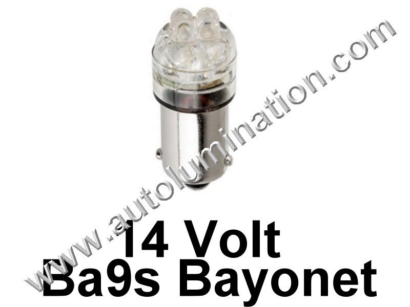 363 G3-1/2 Ba9s 14V 4Led Led Bulb