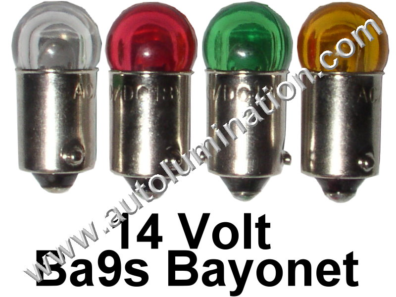 363 G3-1/2 Ba9s 14V Cree Dome Led Bulb
