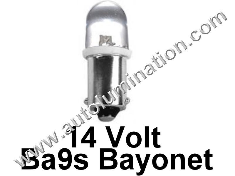 363 G3-1/2 Ba9s 14V Focused Led Bulb