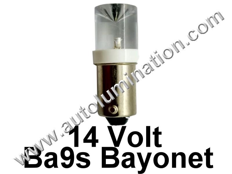 363 G3-1/2 Ba9s 14V Inverted Led Bulb