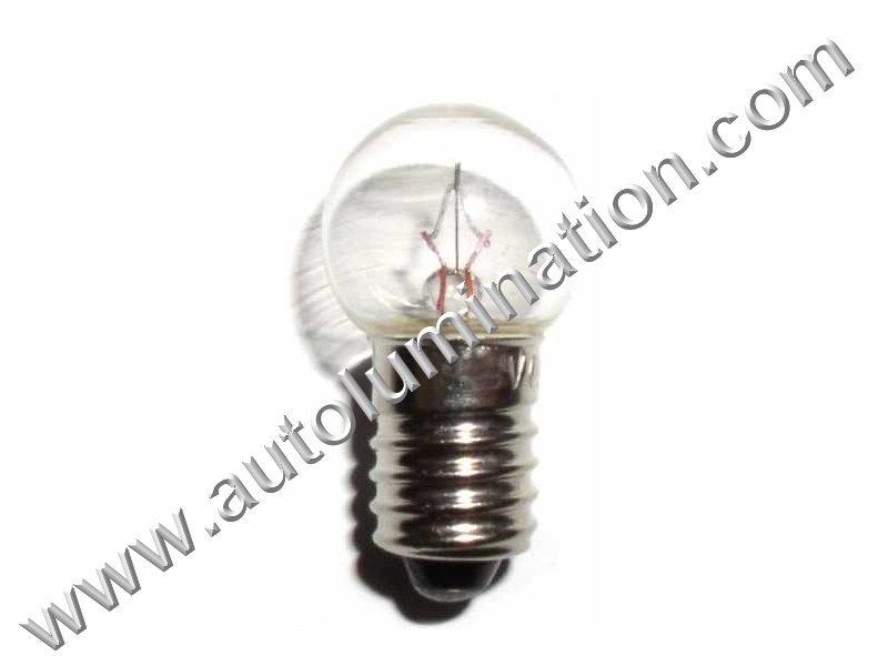 430 G4-1/2 E10 14V Dyed Glass Incandescent Bulb