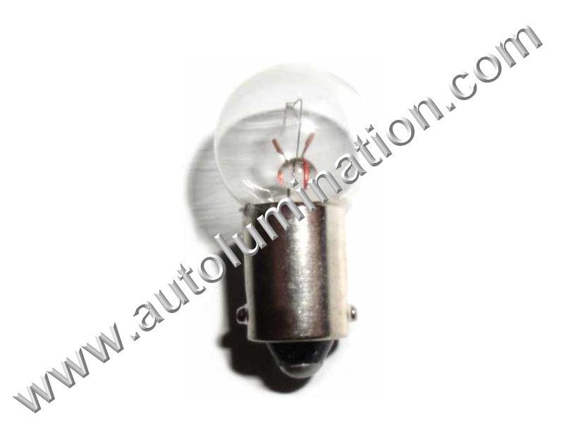 431 G4-1/2 Ba9s 14V Dyed Glass Incandescent Bulb