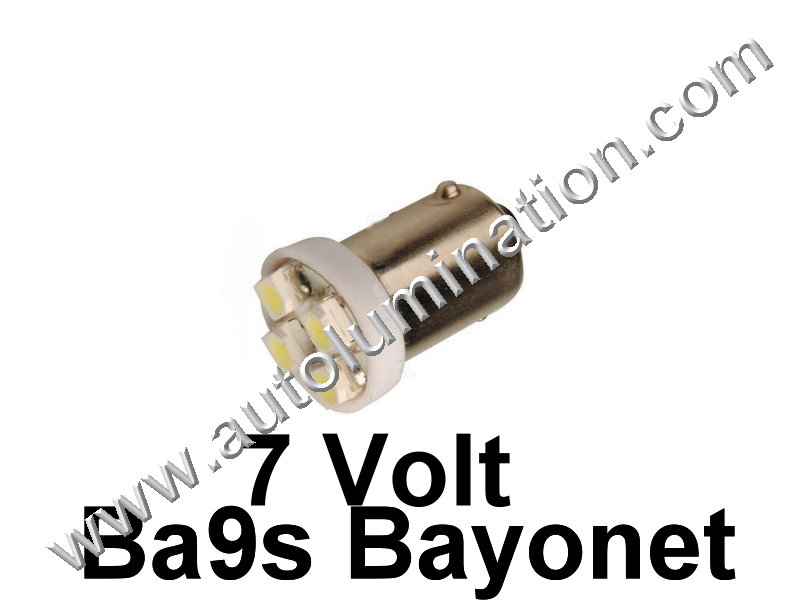 51 G3-1/2 Ba9s 7V 4Star Led Bulb