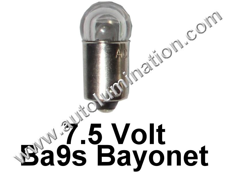 51 G3-1/2 Ba9s 7V Cree Dome Led Bulb
