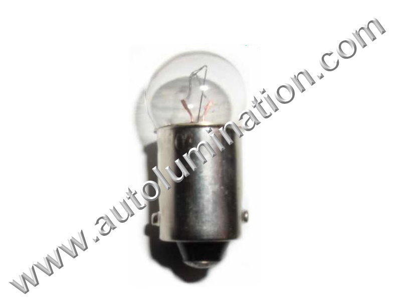 51 G3-1/2 Ba9s 7V Dyed Glass Incandescent Bulb