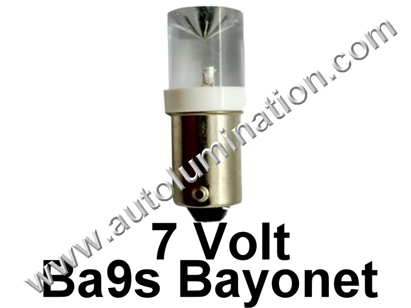 51 G3-1/2 Ba9s 7V Inverted Led Bulb
