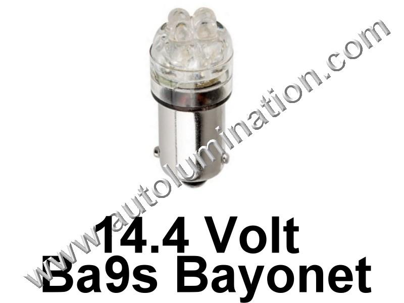 53 G3-1/2 Ba9s 14.4V 4Led Led Bulb