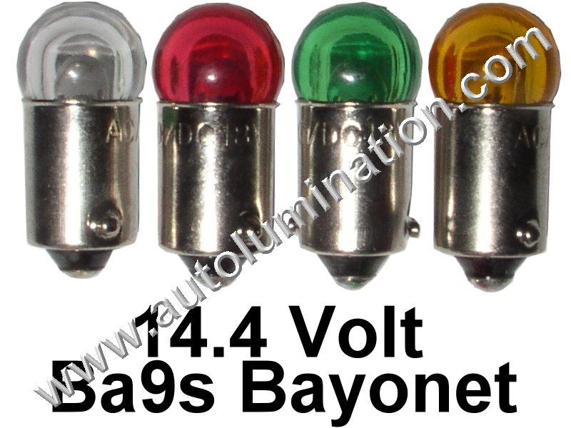 53 G3-1/2 Ba9s 14.4V Cree Dome Led Bulb