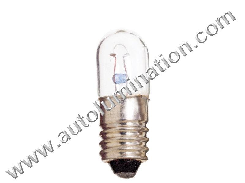 610-6666-301  T10 14V Clear Glass E10 Base Light Incandescent Bulb
