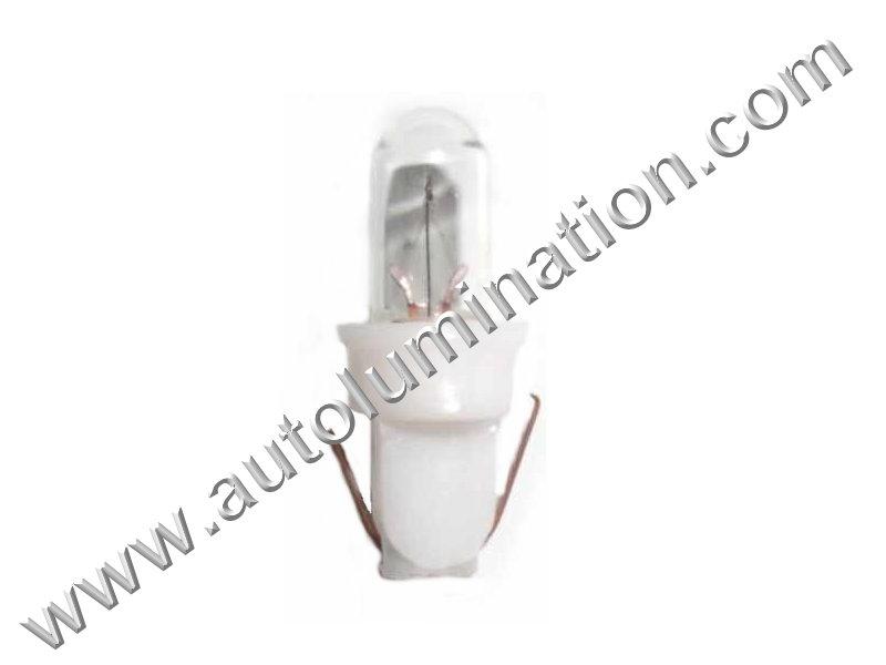 8532-300 T5 PB 14V Clear Glass X-Mas Base Light Incandescent Bulb