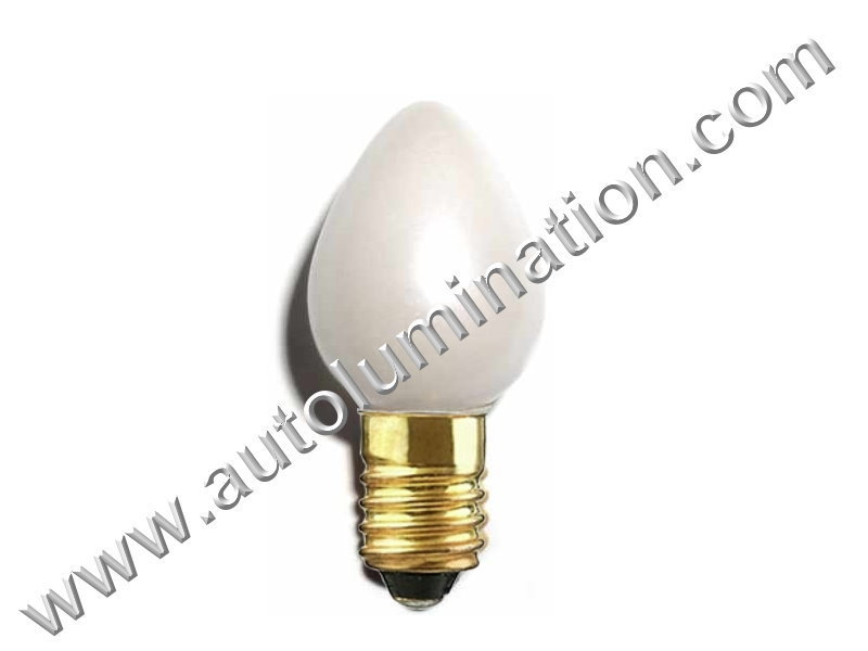 Lionel 1442 C6 E10 18V Street Lamp Light Post Led Bulb Pearl