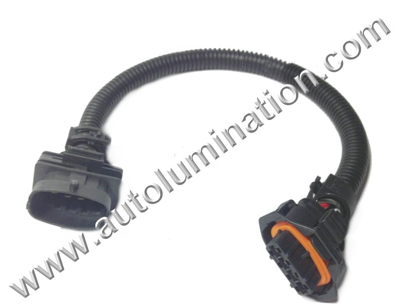 Throttle Position Sensor Connector-Manifold Absolute Pressure Sensor Connector