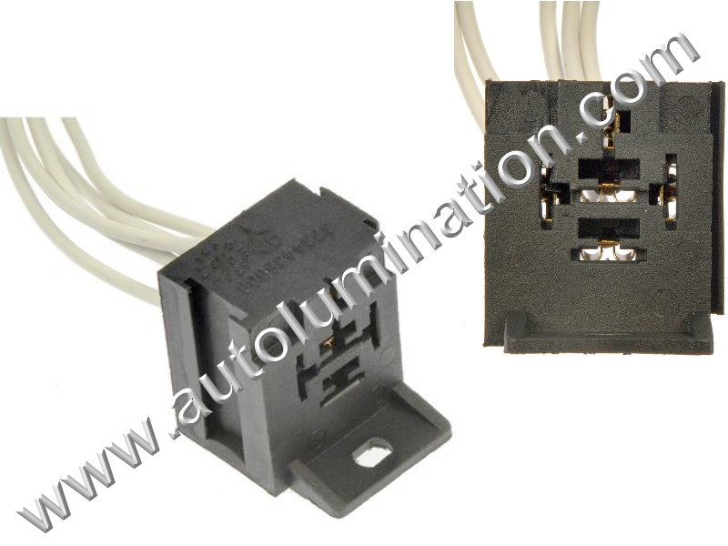 5_way_bosch_style_ac_hvac_relay_heater_switch_connector_pigtail_wm Heavy Duty Headlight Wire Harness on