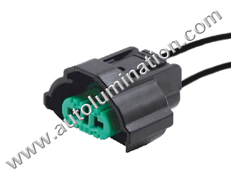 Pigtail Connector with Wires Headlight - Low Beam Headlight - High