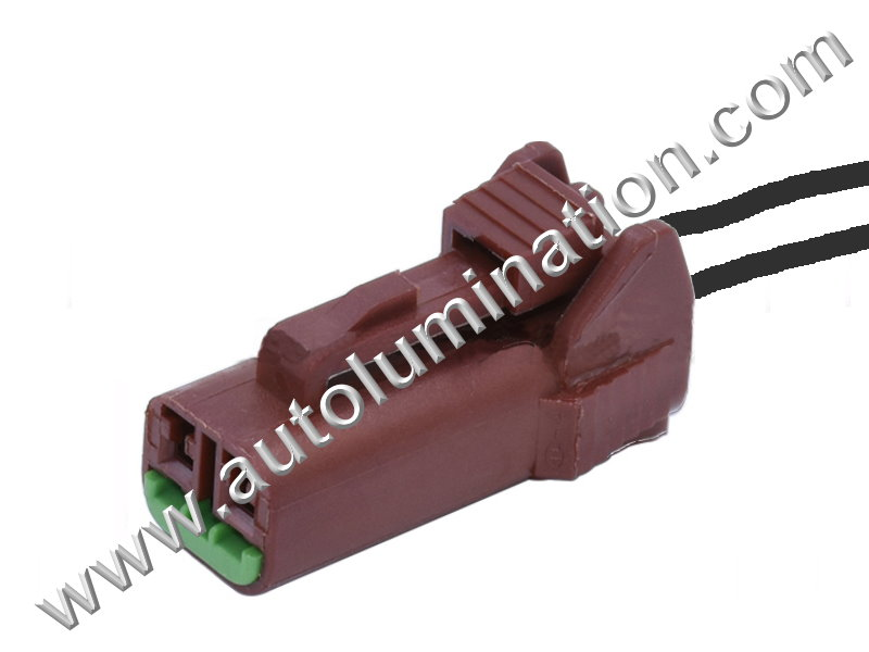 Pigtail Connector with Wires,,Windshield Washer Level Sensor,Ambient Temperature Sensor,,,Infiniti, Nissan, Subaru, Mitsubishi,A42A2