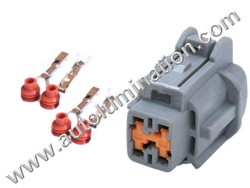 Connector Kit Cooling Fan Infiniti,Nissan,Subaru 6188-0558 F72A4