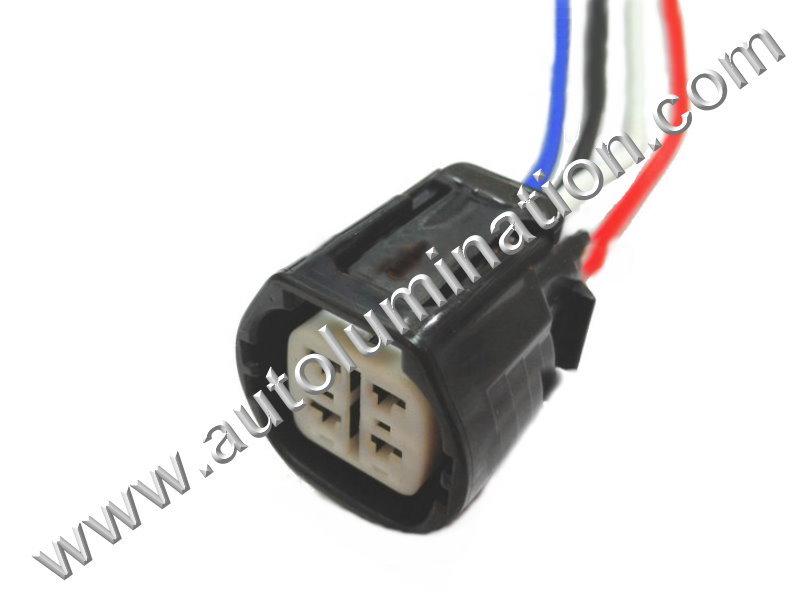 pigtail connector with wires, , alternator,generator, , , , lexus,scion