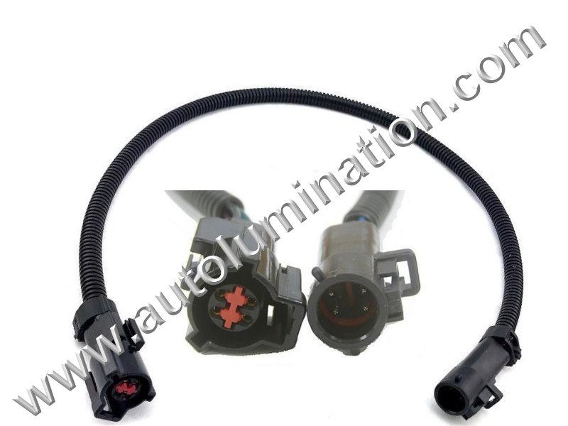 O Sensor Wiring Harness Ford on