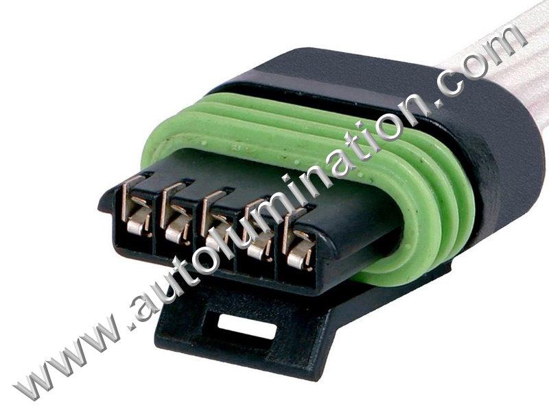 gm 25168491 25138411 15904068 maf sensor pigtail connector. Black Bedroom Furniture Sets. Home Design Ideas