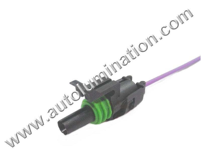 Coolant Sensor Washer Fuel Pump Coil Headlight Connector GM PT1780 88988136
