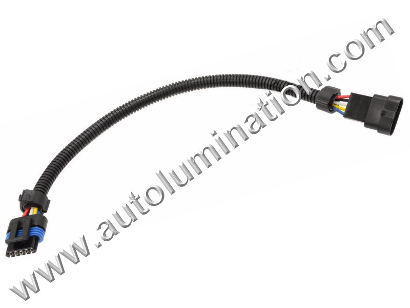 Gm Ls2 Extension 8In Maf Sensor Connector Harness