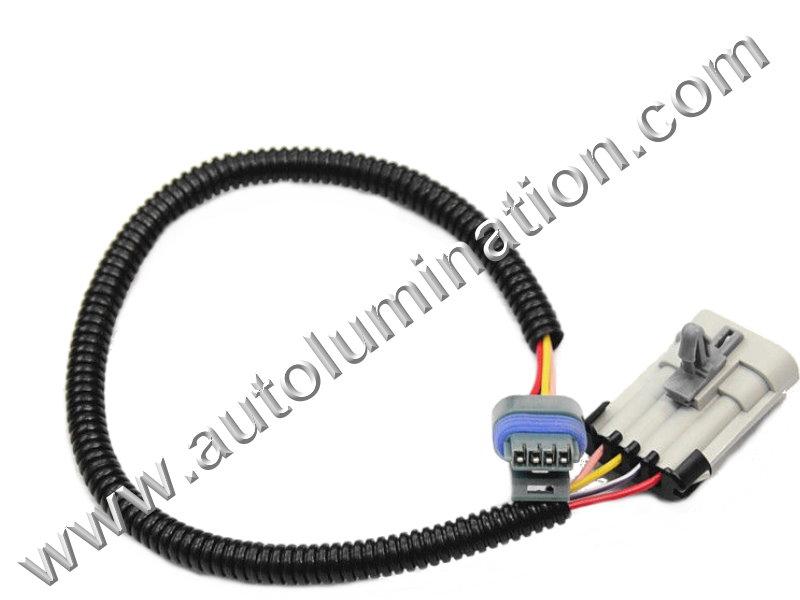 Gm Lt1 92 94 24 Optispark Sensor Connector Harness
