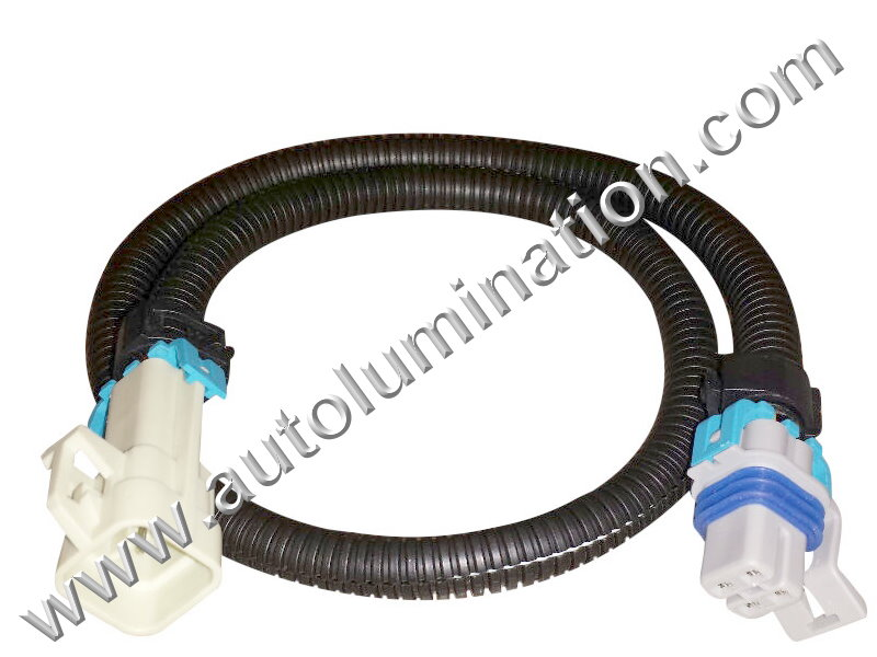 Gm Oxygen O2 Sensor Extension Grey Ls1 Ls2 L76 L98 Ls3 Ls7 30cmrhautolumination: Gm O2 Sensor Extension Harness At Gmaili.net