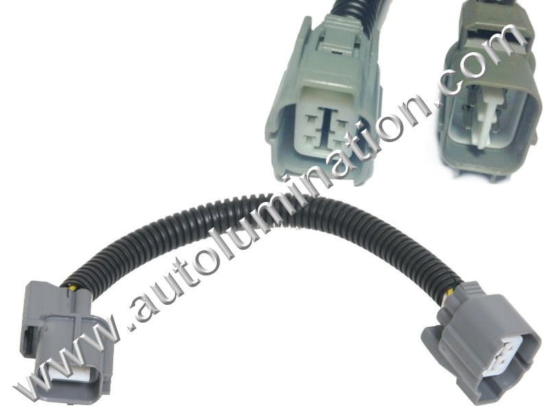 Honda O2 Extension Harness Acura 4 Wire Sensor Civic Integra ... on