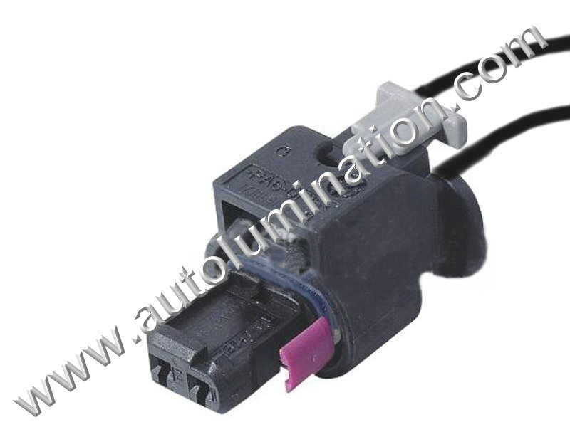 pigtail connector with wires marker light front camshaft solonoid rh autolumination com Aluminum Wiring Electrical Outlet Wiring Diagram
