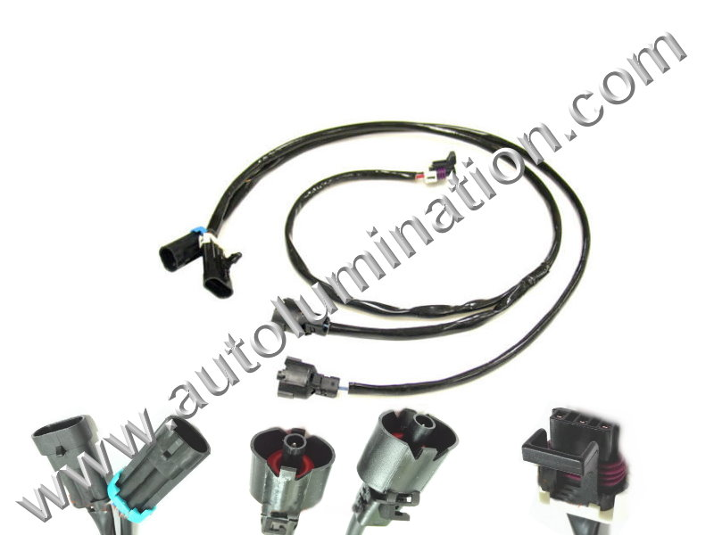 knock sensor connectors  u0026 harnesses