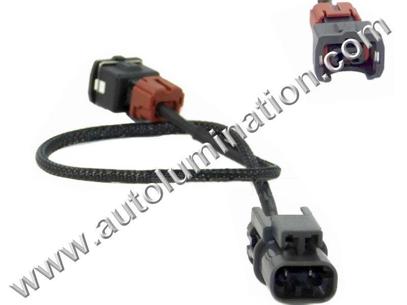 Subaru 99 02 Engine Knock Sensor Connector Harness