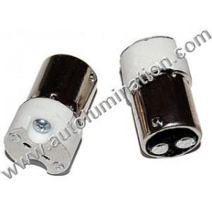 Ba15d Base to MR16 Bulb Adapter Socket