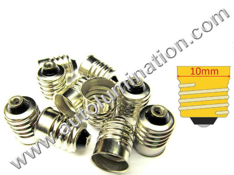 E10 miniature screw bulb base 1449,52,258,428,432,1446,1447